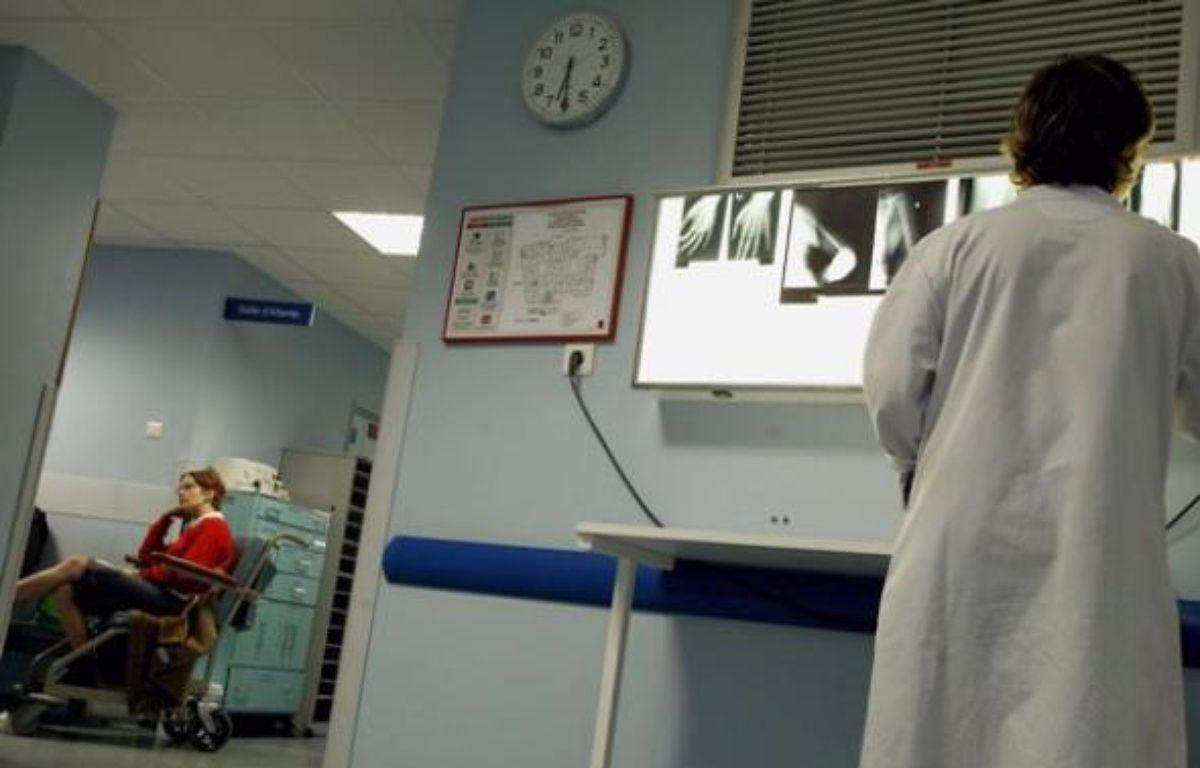 Les Urgencesde l'hôpital Manchester de Charleville-Mézières, le 28 janvier 2010.  – AFP