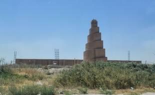 La Grande Mosquée de Samarra, en Irak, le 23 juillet 2015.