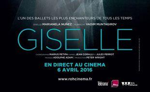 Affiche du film Giselle (Royal Opera House)