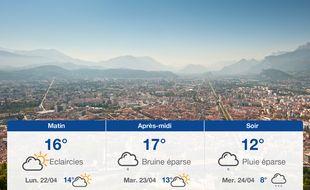 Météo Grenoble: Prévisions du dimanche 21 avril 2019