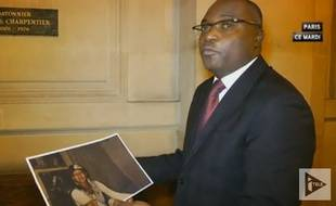 L'avocat Fabien Ndoumou en janvier 2016.