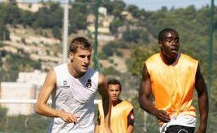 François Clerc (ici à gauche) a signé avec le Gym la semaine dernière pour deux ans.