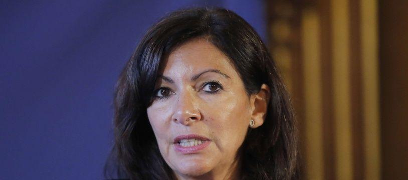 Anne Hidalgo, le 3 décembre 2018 à Paris.