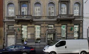 La banque BNP Paribas-Fortis d'Anvers (Belgique) a été cambriolée ce lundi 4 février.