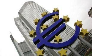 Le siège de la Banque centrale européenne (BCE) à Francfort en Allemagne.