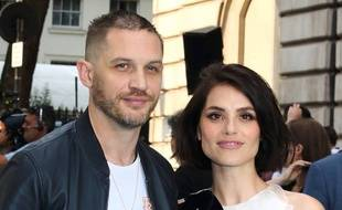 Le couple d'acteurs Tom Hardy et Charlotte Riley