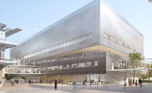 Le futur Neurocampus de Bordeaux sera connecté aux autres unités par des passerelles