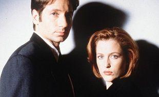 David Duchovny et Gillian Anderson, en 1997