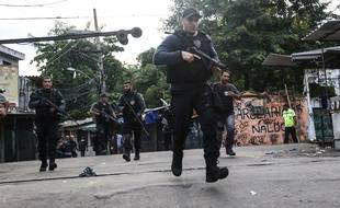Forces de police brésiliennes-Illustration
