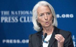 La directrice du FMI Christine Lagarde à Washington le 15 janvier 2013