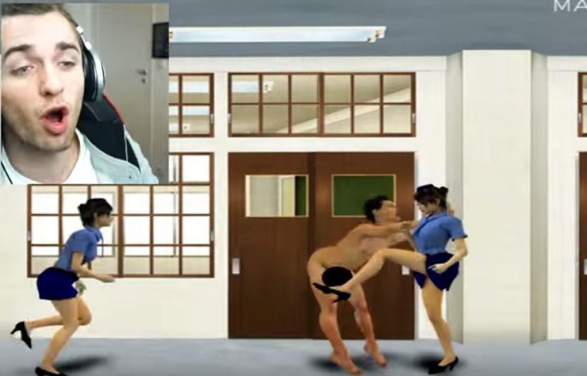 fou japonais jeu de sexe montre