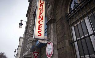 Le service d'urgences de l'hôpital de l'Hôtel Dieu, à Paris.