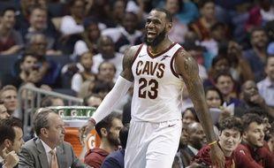 Basket: Le Mans champion de France, LeBron James envoie ses félicitations (Archives)
