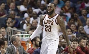 Basket: Le Mans champion de France, LeBron James envoie ses félicitations (Archives)