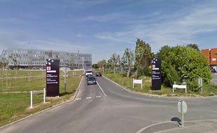 L'hôpital de Douai.