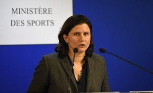 Roxana Maracineanu, le 3 février 2020 au ministère des Sports.