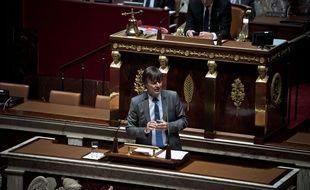 Nicolas Hulot à l'Assemblée nationale, le 3 octobre 2017.