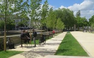 Le square Maquis de Saffre, à Nantes, a rouvert ses portes