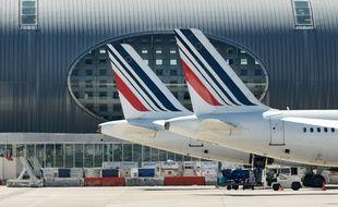 Des avions Air France sur le tarmac de Roissy-Charles de Gaulle (image d'illustration).