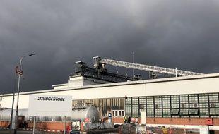 L'usine Bridgestone de Béthune