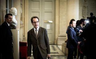 Gilles Le Gendre à l'Assemblée, le 3 avril 2018 à Paris.