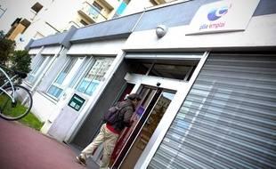 Une agence pôle emploi à Jolimont. 25/04/12 Toulouse