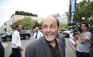 Jean-Pierre Bacri au festival d'Angoulême en 2017.