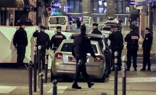 L'attaque s'est produite  non loin de l'Opéra.