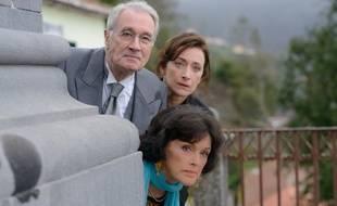 Anny Duperey, Bernard le Coq et Delphine Serina dans la saison 11 de