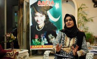 Fowzia Siddiqui, la soeur d'Aafia Siddiqui, le 12 novembre 2014 à Karachi