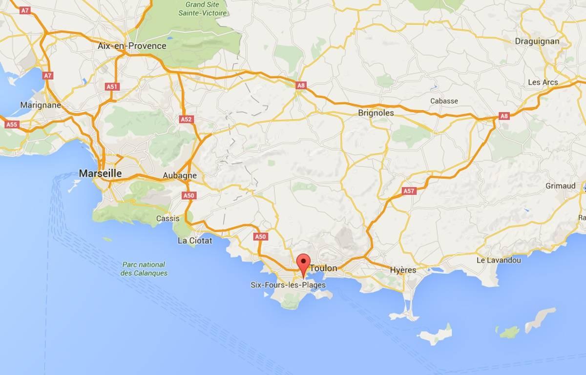 Capture Google Maps Seyne-sur-mer – Google Maps