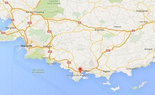 Capture Google Maps Seyne-sur-mer
