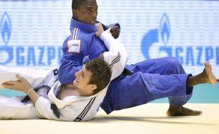 Loïc Korval remporte une médaille de bronze aux championnats du monde de judo, le 12 septembre 2010 à Tokyo.