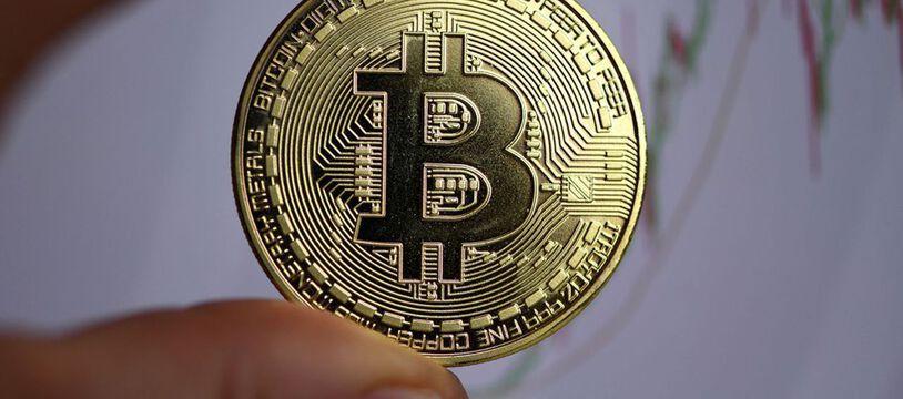 La monnaie virtuelle Bitcoin. (illustration)