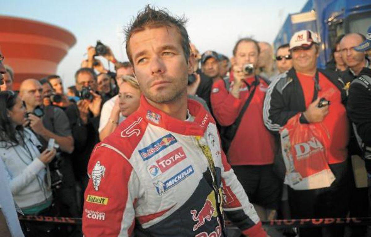 Sur la route de son 9e titre de champion du Monde WRC, l'Haguenovien Sébastien Loeb sera en Alsace en octobre. –  g. varela / 20 minutes