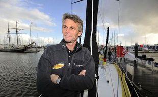 Bernard Stamm, l'un des concurrents du Vendée Globe 2012-2013.