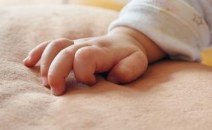 Un bébé (illustration).