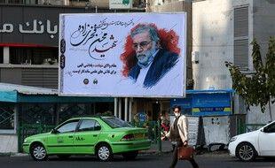 Hommage à Mohsen Fakhrizadeh dans les rues de Téhéran, le 30 novembre 2020.