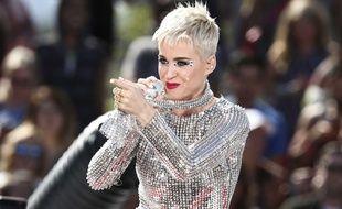 Katy Perry photographiée le 12 juin 2017 à Los Angeles.