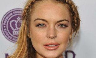 Lindsay Lohan à l'avant-première de «Scary Movie 5» à Los Angeles, le 11 avril 2013.