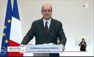 Coronavirus: conférence de presse de Jean Castex