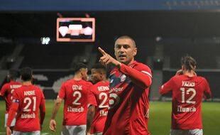 Burak Yilmaz a marqué dimanche à Angers