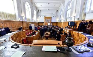 Saintes, le 13 mars 2020. Le procès de Joël Le Scouarnec avait été interrompu en raison de l'épidémie de coronavirus.