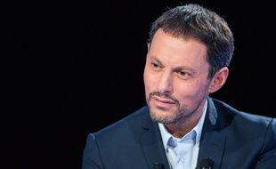 Marc-Olivier Fogiel sur le plateau du «Divan».