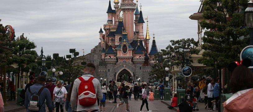 Le parc Disneyland Paris. (Illustration)