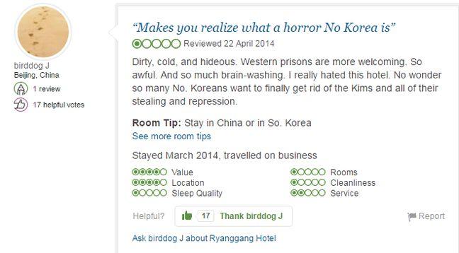 TripAdvisor répertorie huit hôtels à Pyongyang.