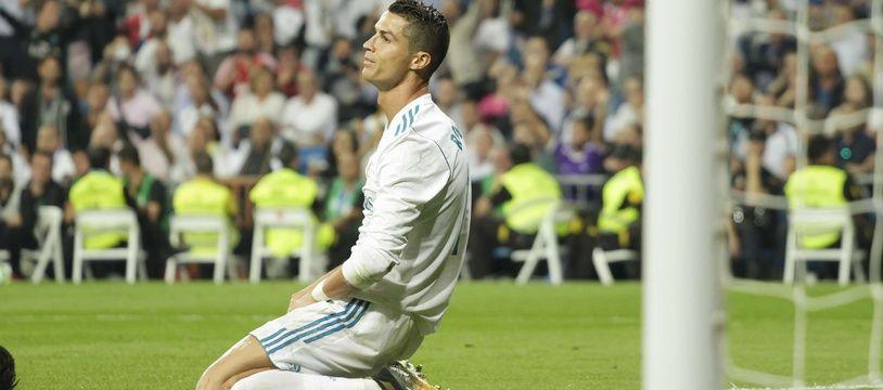 Ronaldo n'a pas réussi à marquer lors de Real Madrid-Bétis Séville (0-1), le 20 septembre 2017.