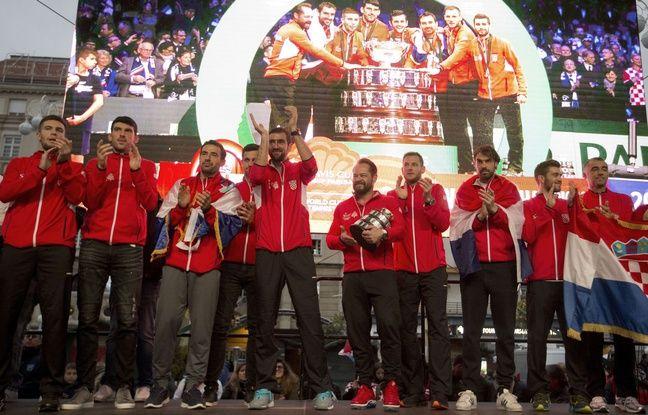 Coupe Davis: «Heureux d'être champions du monde», les Croates acclamés à Zagreb