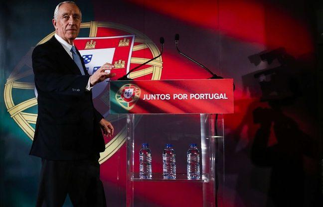 Marcelo Rebelo de Sousa à Lisbonne le 20 janvier 2016.