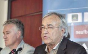Didier Deschamps et Jean-Claude Dassier.